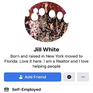 """Jill White is a well-known realtor, in the Fort Walton Beach, Florida area. Recently, a man posted a meme on Facebook, with one image being Michelle Obama dancing, with Melania Trump in an image beside her, posing, and the man asked """"what's difference?."""" The realtor, Jill White said the difference is that """"class not ass is in the White House again."""""""