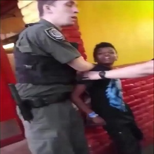 Yesterday, a video went viral of this young man, photoed right, being arrested by three police officers. With police brutality, especially towards black people, this video is receiving so much scrutiny. Making it more controversial is that the young man is clearly not even a teenager, yet, and there are people begging the police to stop, which they refuse.