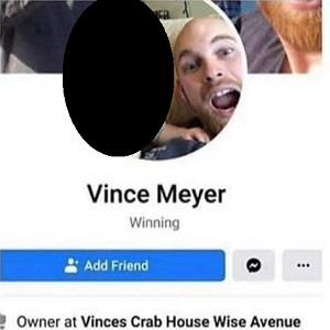 Vince Meyer, the owner of Vince's Crab House, and Crab Shack, in Maryland, has some racially-insensitive Facebook remarks resurface. The Maryland businessman told one of his Facebook friends they would make a good slave, if they had a better tan. When Trump was elected president, he said he wished he would make protesting illegal, along with saying the Social Services offices are one place he bet protesters never rioted.