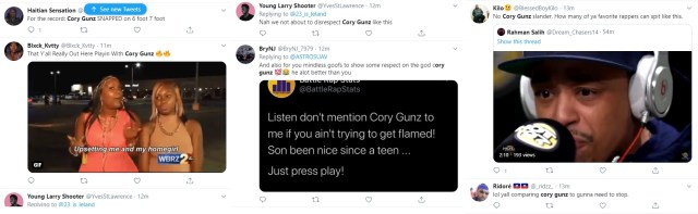 "Cory Gunz was one of the most-promising rappers in the game, in 2011. He was signed to Young Money and Lil Wayne put him on his first single, off ""Tha Carter V,"" and he didn't disappoint, offering a classic verse. Now, nine years later, fans on Twitter have the audacity to try and clown Cory Gunz over his verse, but the ones old enough to remember ""6 Foot 7 Foot"" are not letting this slander exist."