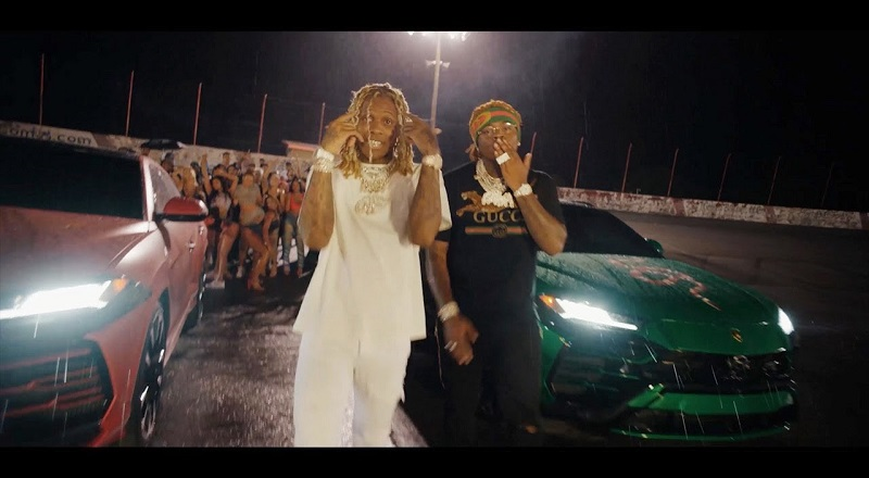 "Lil Durk releases ""Gucci Gucci"" music video, featuring Gunna."