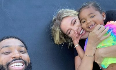 "Khloe Kardashian and Tristan Thompson are apparently back together. With their baby, True Thompson, the couple traveled to Turks and Caicos for Kylie Jenner's 23rd birthday. The two were looking very cozy and Khloe's IG Story says ""not a secret, just none of your business."""