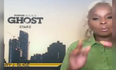 """Mary J. Blige was doing a press junket for """"Power Book II: Ghost,"""" when the topic of """"auntie"""" came up. While it's meant as a term of endearment, Mary J. Blige isn't impressed. She said that she doesn't like being called """"auntie,"""" with people older than her calling her that, so Mary questioned why she can't be called """"sister,"""" or something."""