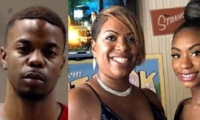 Justin Deion Turner, 23, was having problems with his girlfriend, Crystal Williams, age 22. The two actually broke up, but Turner found the girl, who was riding with her mother and brother. Turner opened fire, killing Williams and her mother, Danyel Sims, age 46, and also shot her 18-year-old brother.