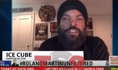 Ice Cube sat down with Roland Martin and they cleared the air about his meetup with Donald Trump. He said that he's never met Donald Trump, or Katrina Pierson. Cube went onto say that he knew his efforts would be politicized, but he only cares about pushing his agenda.