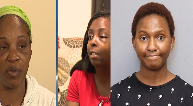 Nythia Davis McKeniva Cold Stone Creamery Anne Arundel mask attacked Ibukunoluwa Opanuga arrested