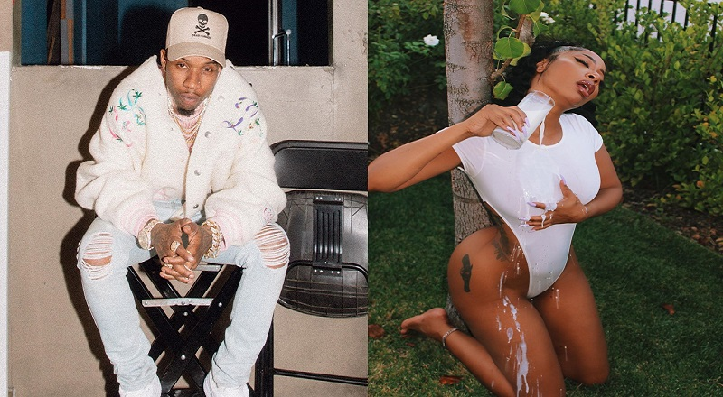 Tommie is thirst-trapping, heavy, on Instagram, this morning. It looks like she caught Tory Lanez, as he commented on her milk photos. Fans viewed that as Tory Lanez shooting his shot at Tommie, so they began dragging him over being charged with shooting Megan Thee Stallion, telling him that Tommie shoots back, and that because he shot Megan, he thinks he can shoot everything, everywhere, though he has not been convicted of shooting anyone.