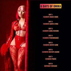 #8DaysofOnika 8 Days of Onika
