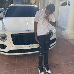 Lil Tjay gun marijuana possession arrested