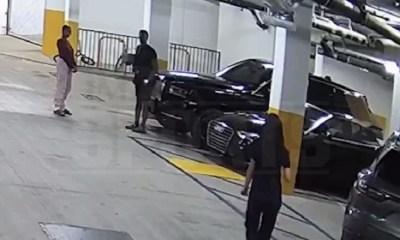 Rajon Rondo girl assault video footage break up fight