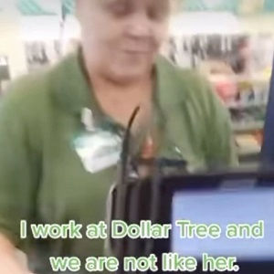 Dollar General woman refuses service to woman with crying child