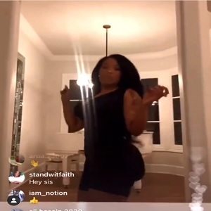 K. Michelle booty deflates IG Live