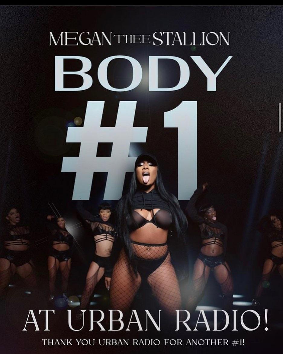 Megan Thee Stallion Body Number One Urban Radio