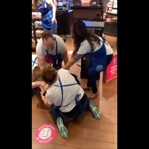 Bath and Body Works fight brawl