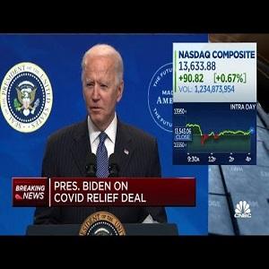 Joe Biden COVID Relief Bill 1.9 trillion
