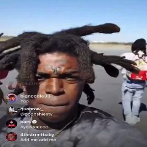 Kodak Black Pooh Shiesty Twitter beef