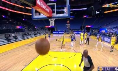 Kyle Kuzma air balls technical free throw