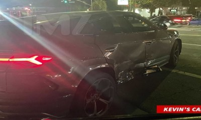 Kevin Gates Car Crash Damage