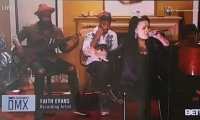Faith Evans DMX funeral
