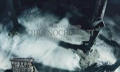 J Balvin Otra Noche Sin Ti music video