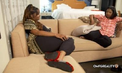 Marlo and Kandi Venting Real Housewives of Atlanta