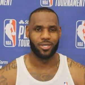 LeBron James saw three rims when he hit game winner