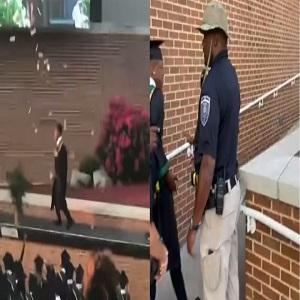 Metro Marrs arrested at graduation