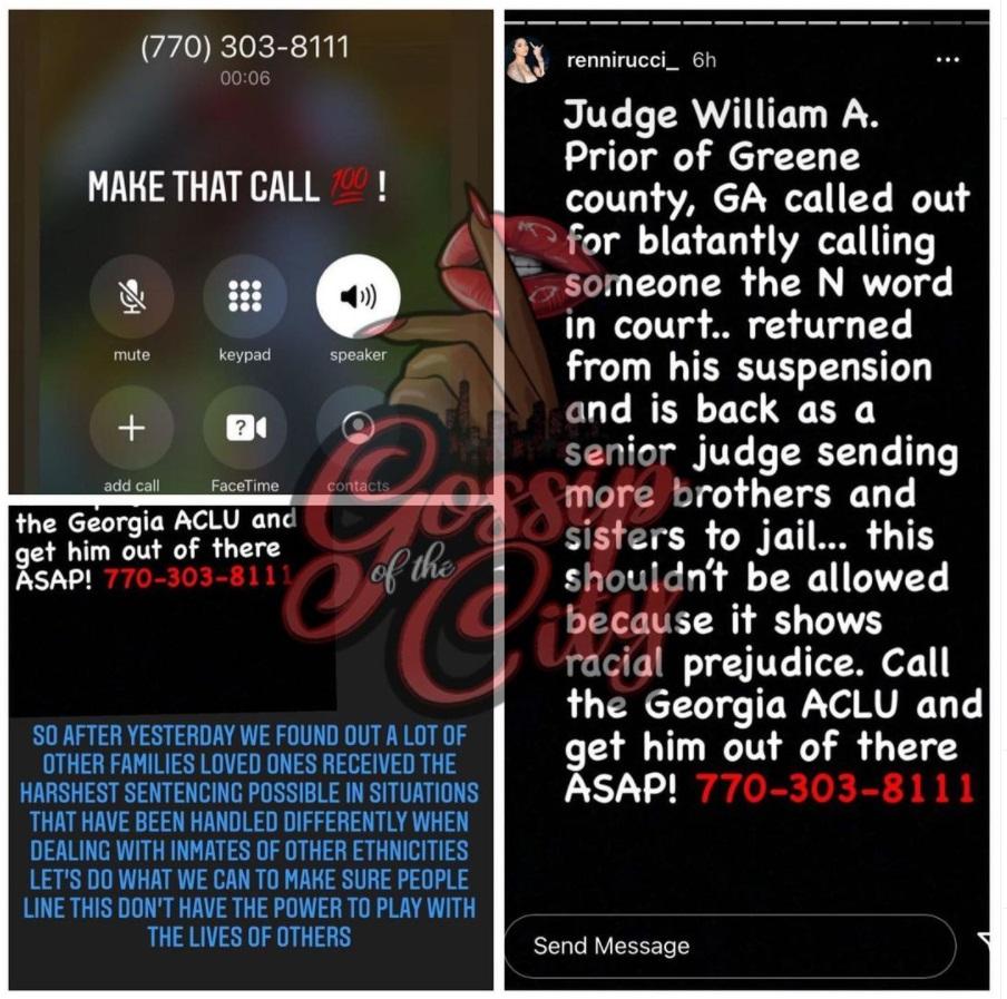 Renni Rucci Foogiano judge William A. Prior
