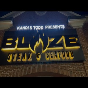 Kandi Burruss Blaze Restaurant