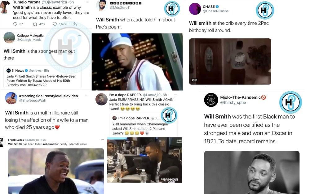Will Smith Jada Pinkett Smith Tupac poem