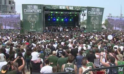 2021 Milwaukee Bucks championship parade