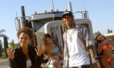 500RAXX Tyga Dump Truck music video