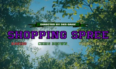 Davido Shopping Spree music video