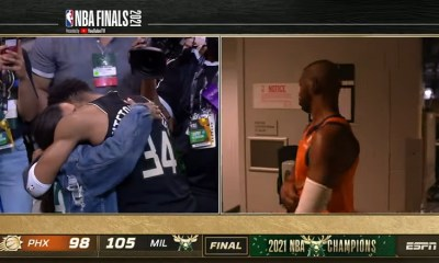 Final seconds of the 2021 NBA Finals