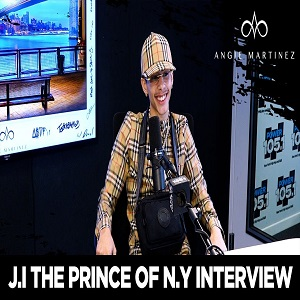 J.I. The Prince of NY interview with Angie Martinez
