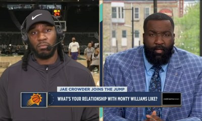 Jae Crowder talks Game 4 of 2021 NBA Finals with The Jump