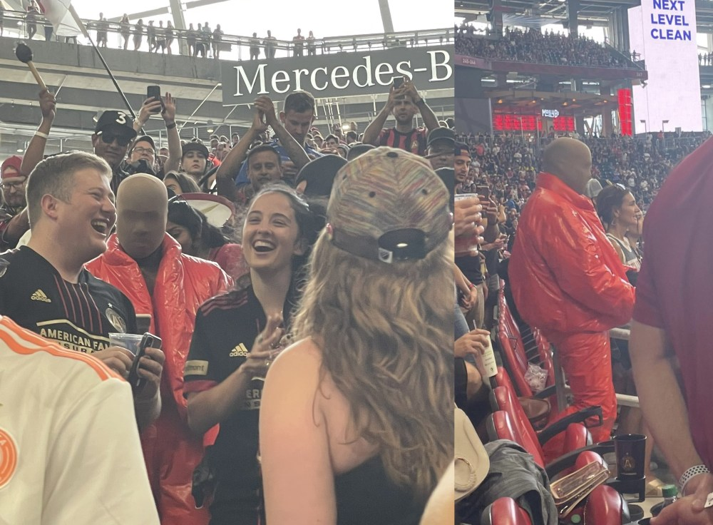 Kanye West reportedly moved into the Mercedes-Benz Stadium to finish album Donda