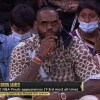 LeBron James appears courtside during Suns Bucks Game 5 in support of Chris Paul
