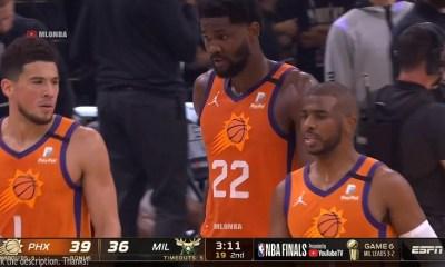 Milwaukee bucks vs. Phoenix Suns Game 6 Second Quarter Highlights