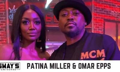 Omar Epps Patina Miller talk Raising Kanan with Sway