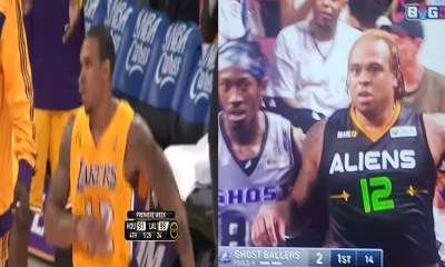 Shannon Brown is trending on Twitter because he gained a lot of weight