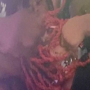 Trippie Redd gets jumped during Rolling Loud performance and his hair gets snatched