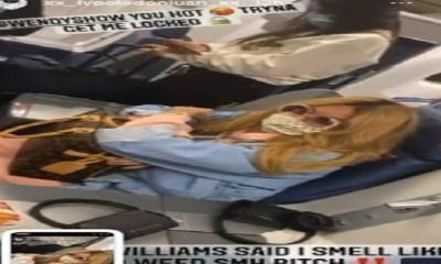 Wendy Williams throws water on man for having marijuana