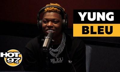 Yung Bleu talks Moonboy Drake and Chloe Bailey on Hot 97