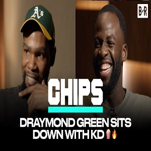 Draymond Green sit down interview with Kevin Durant for Bleacher Report
