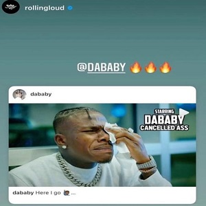 Rolling Loud reposts DaBaby's Whole Lotta Money freestyle