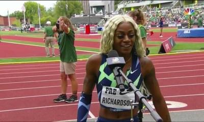 Sha'Carri Richardson speaks on last place finish