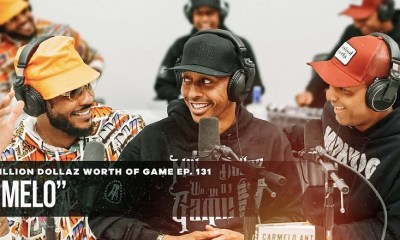 Carmelo Anthony talks new book, joining Lakers, LeBron, his career, moods, and more on Million Dollaz Worth of Game