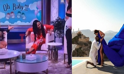 Jeannie Mai reveals she and Jeezy are expecting their first child; Host announces pregnancy on The Real