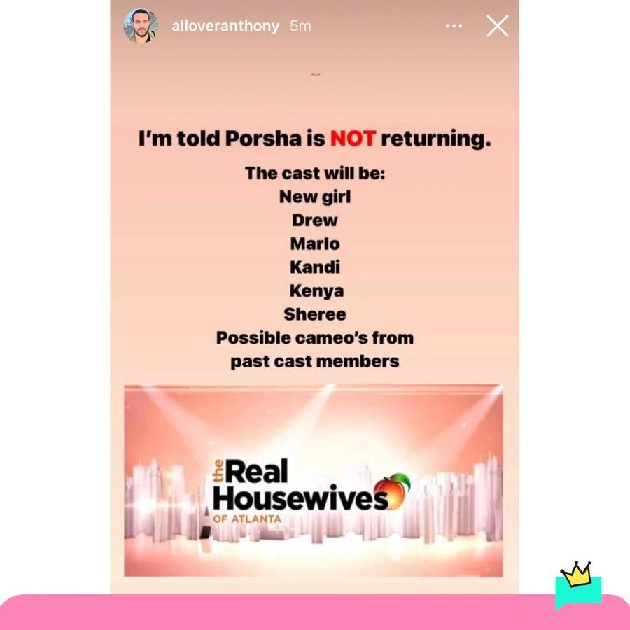 Porsha Williams leaving The Real Housewives of Atlanta, according to rumors